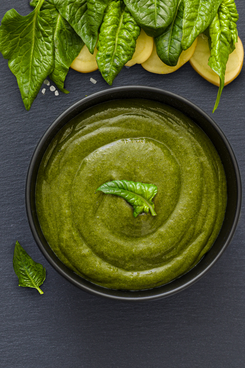 vellutata spinaci